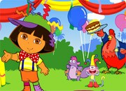 Dora se pregateste de petrecere