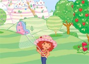 Strawberry Butterfly Catch – Girl Game
