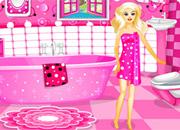 Pink Barbie Bathroom