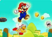 Mario Jumping Star