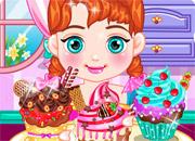 Baby Anna Tasty Cupcake