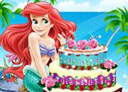 Ariel Cake Decor