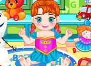 Baby Anna Find Alphabets